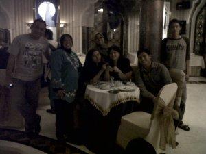 dengan sebagian member deBlogger
